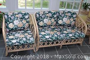 Love Seat And Chair C