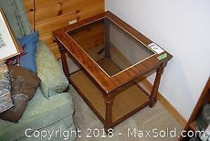 Wooden Side Table D