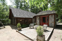 Hand Crafted Log Home in Grand Bend