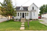 3 bed 1 bath Updated Century Home with Loads of Character