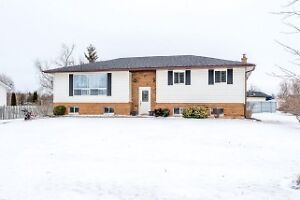 3 plus 1 bedroom and 2 bath bungalow on back lot with lake views