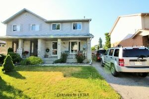 Large 2 storey semi detached home in Northridge!
