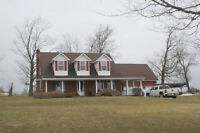 Horse/Hobby Farm Located On 149 Acres Of Rolling Country Side.