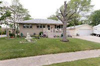 4 bed All Brick, North Sarnia Bungalow for sale