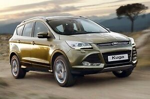 2013 Ford Kuga TF Trend (AWD) Green 6 Speed Automatic Wagon