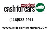 We buy scrap & unwanted vehicles and pay cash within 1 HOUR!