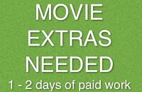 Seeking PAID EXTRAS for 1-2 days background work in June