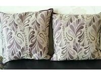 4 Laura Ashley feather cushions