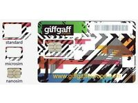 Free Giff Gaff Sim Card with £5 credit and free postage