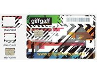 Giffgaff SIM card with £10 free credit