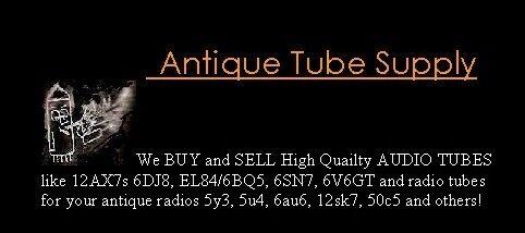 AUDIO Tube SOUND 12AX7 EL84 etc