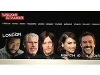 2x General admission weekend passes for Walker Stalker London, 10th & 11th March