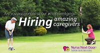 Seeking Caring Caregivers & HCA's