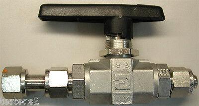 Parker Ball Valves 8Z(A)-B8LJ-SSP-C3, ½ inch