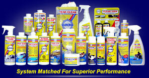 THE BEST BOAT CARE PRODUCTS ON THE MARKET!