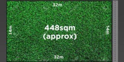 448 sqm land