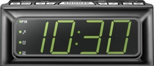 Insignia Digital AM/FMClock Radio w/ Large LED Display NS-CLOPP2