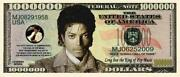 Michael Jackson Dollar Bill