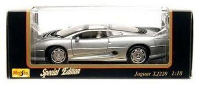 Die Jaguar XJ220 Special Edition von Maisto, im Format 1:18