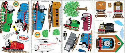 - THOMAS THE TANK ENGINE wall stickers 27 decals trains room decor James Percy +