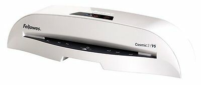 Brand New In Box Fellowes Cosmic 2 95 Laminator W Manual Pouches