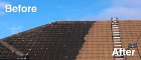 power cleaning roofs