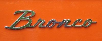Early Bronco Parts Store