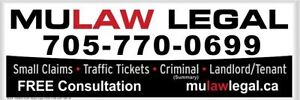 TRAFFIC TICKETS- SMALL CLAIMS- LANDLORD TENANT- CRIMINAL SUMMARY