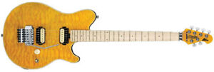 Van Halen Axis Sterling by Musicman Guitar