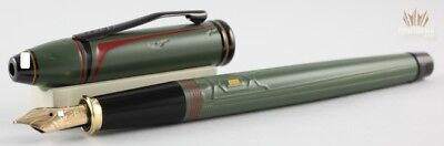 CROSS TOWNSEND LIMITED EDITION STAR WARS BOBA FETT FOUNTAIN PEN SPLENDID DESIGN!