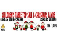 Christmas Fayre & Children's Table Top Sale