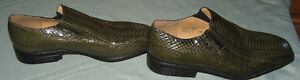 Men's Genuine Snakeskin Shoes