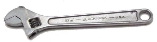 """Blackhawk (MAC) 10"""" Adjustable Wrench Model AW-1010 Made in USA Used"""