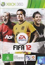 BRAND NEW FIFA 12 2012 FOR XBOX 360 ORIGINAL AUS VERSION
