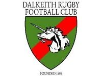 New Year, New You? Give Rugby A try @Dalkeith Rugby Club Men and Women Welcome, Gym Available