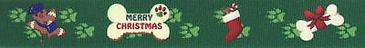 ® Doggy Christmas Grosgrain Ribbon (Doggy Christmas)