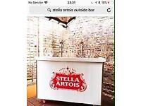 Stella artois potable bar