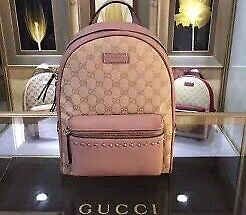 Gucci backpack brown and nude
