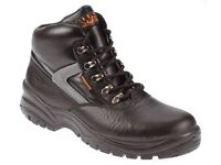 New Worksite Black Steel Toe Chukka Safety Boot SS601 Industrial Footwear.