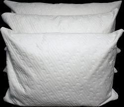 (CLEAR OUT)WATERPROOF KAMBOO PILLOWS AND, ANTIBACTERIAL,BAMBO BED SHEETS