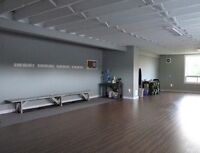 Yoga Studio for Rent close to Downtown Kitchener