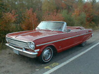Wanted a 1962-65 Chevy 11, Nova or Acadian