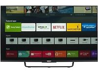 """Sony 43"""" Smart Android LED Tv wi-fi Warranty Free delivery"""