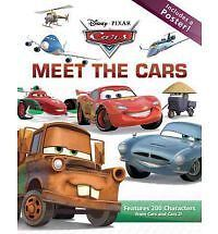 Meet the Cars (Revised) by Disney Press Hcover NEW