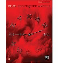 Rush -- Clockwork Angels: Authentic Bass Tab by Rush NEW