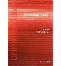 Criminal Law Text and Cases (11th Edition) Waller and Williams Collingwood Yarra Area Preview