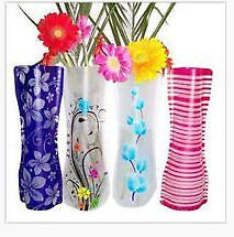New Colorful Plastic Foldable Vase Flower Wedding Party Home Offi Shortland Newcastle Area Preview