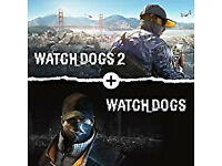 Bundle Watch Dogs + Watch Dogs 2 | PS4 game