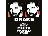 2x drake: the boy meets world tour 1st february 2016 at the london O2 arena