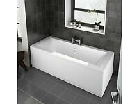 Brand New in box Double ended bath 1700mm x 700mm